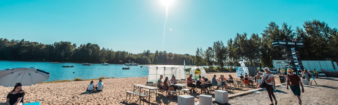 Oulun tapahtuma-alueen ranta